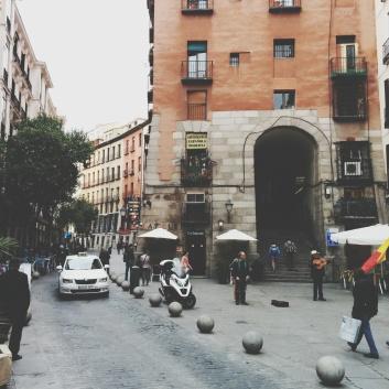 Madrid Photography - Arco de Cuchilleros foto