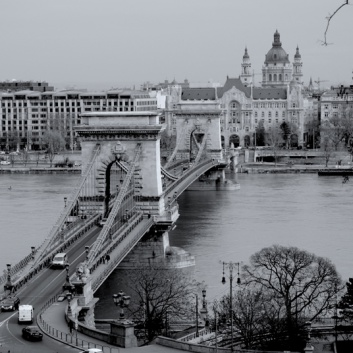 Budapest photography - bridge