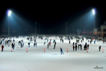 Budapest photography - Ice Ring