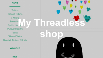 My new artist shop on Threadless