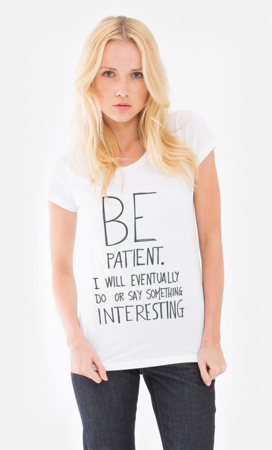 villaraco   Wooop.fr t-shirt be-patient (3)