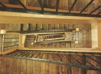 Madrid Photography - Escaleras madera