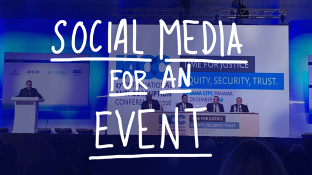 covering an event with social media | holavillaraco